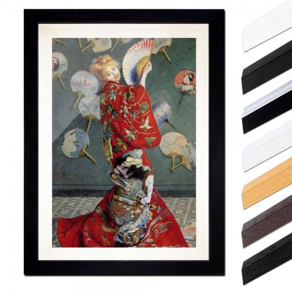 Claude Monet - La Japonaise (Camille im japanischen Kostüm)