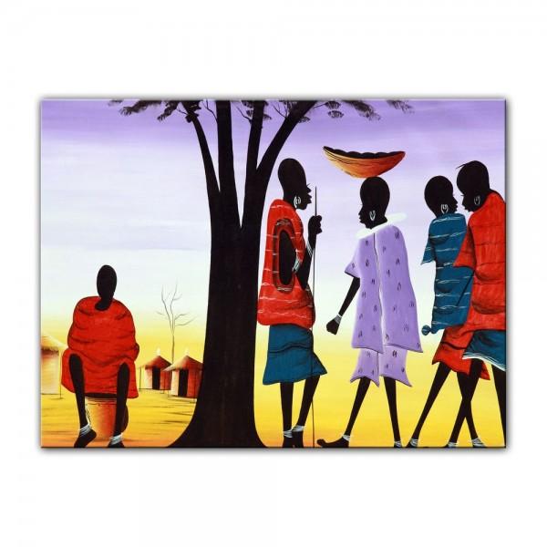 Leinwandbild - Afrika Design II