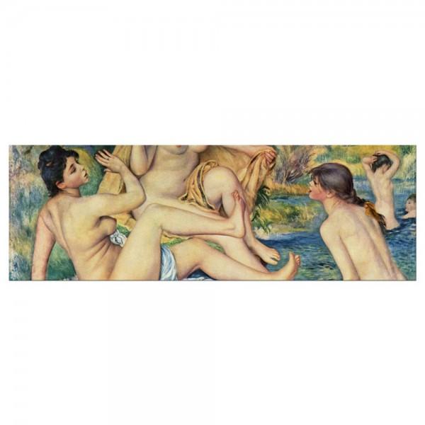 Leinwandbild - Pierre-Auguste Renoir - Die großen Badenden
