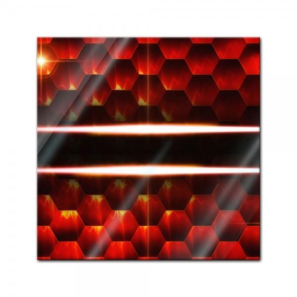 Glasbild - Abstrakte Kunst XLVIII