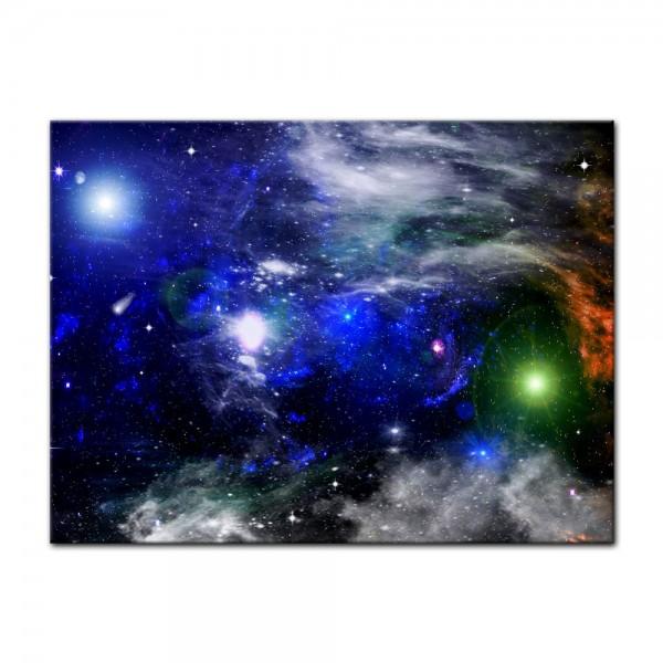 Leinwandbild - Galaxie
