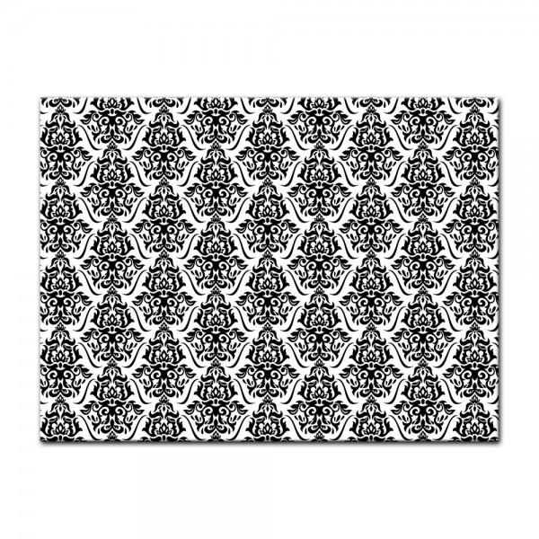 Leinwandbild - Florales Muster Tapete