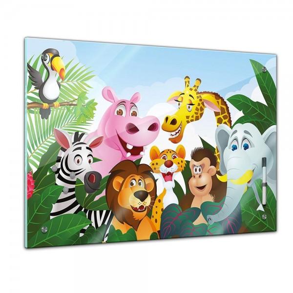 Memoboard - Kinder - Dschungeltiere Cartoon III