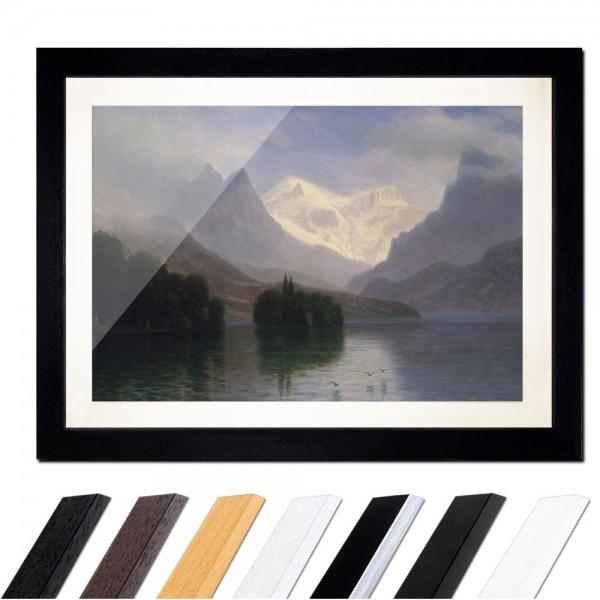 Albert Bierstadt - Mountain Scene