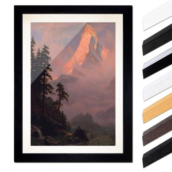 Albert Bierstadt - Sunrise on the Matterhorn