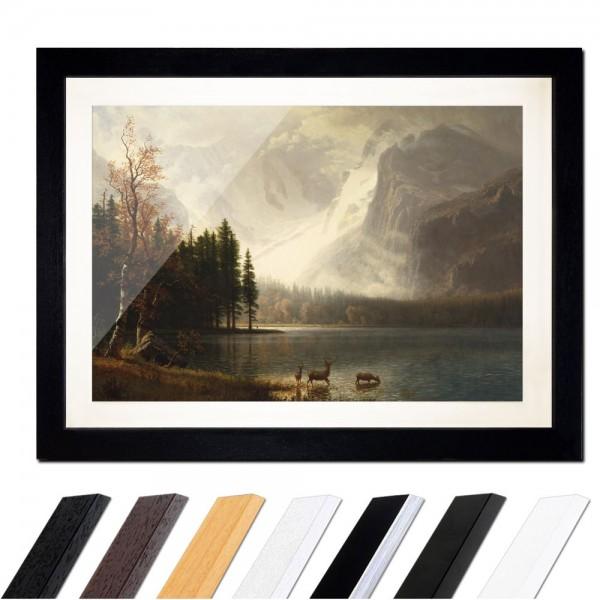 Albert Bierstadt - Estes Park, Colorado, Whyte's Lake