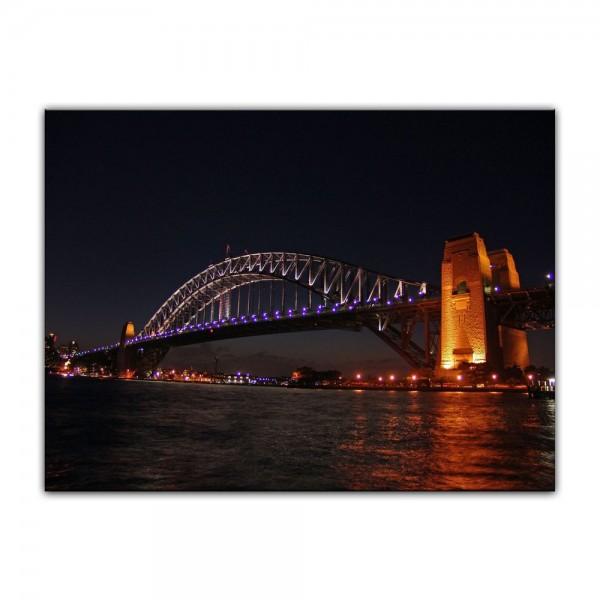 Leinwandbild - Harbour Bridge - Australien