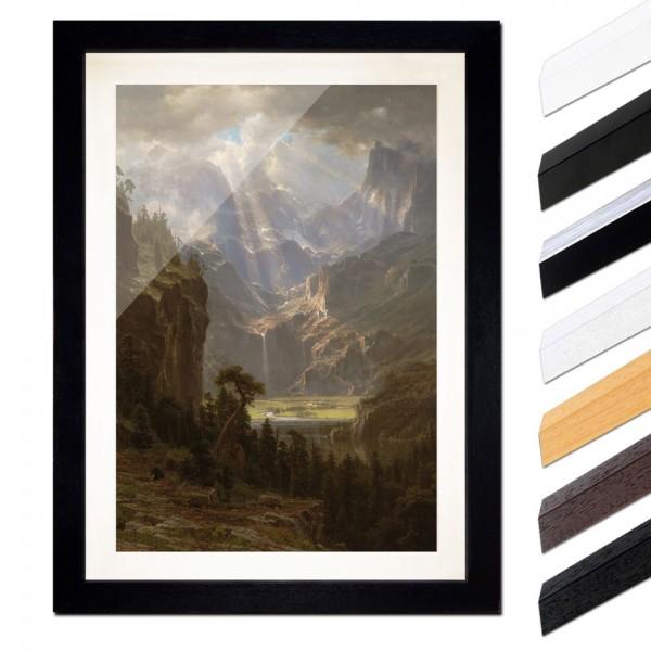 Albert Bierstadt - The Rocky Mountains, Lander´s Peak