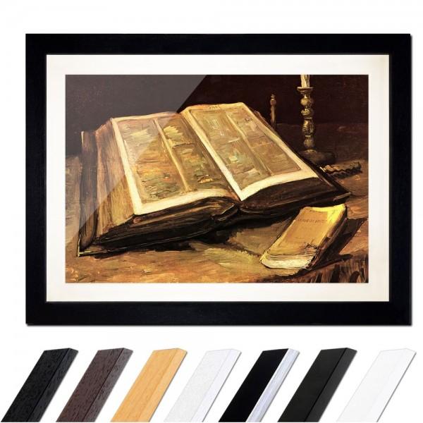Vincent van Gogh - Stillleben mit Bibel