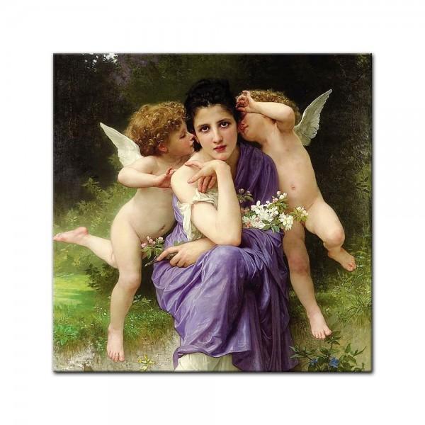 Leinwandbild - William-Adolphe Bouguereau - Frühlingsmelodie
