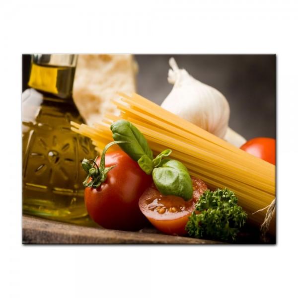 Leinwandbild - Italienische Pasta IV