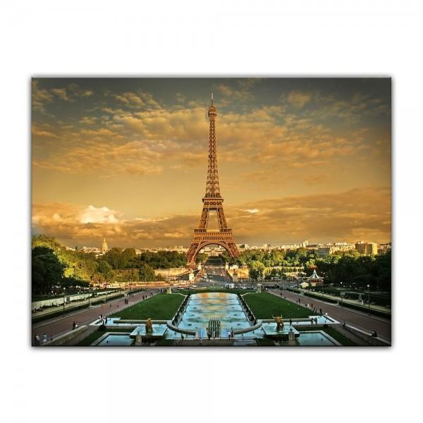 Leinwandbild - Pariser Eiffelturm II