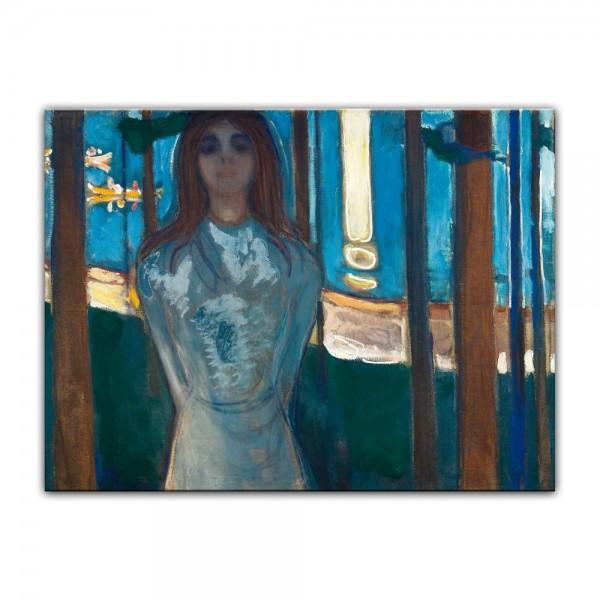 Leinwandbild - Edvard Munch - The Voice, Summer Night