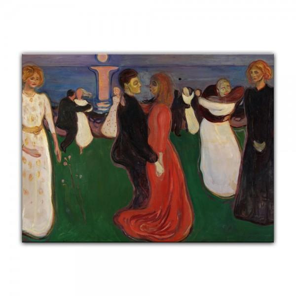 Leinwandbild - Edvard Munch - The Dance of Life - Der Tanz des Lebens