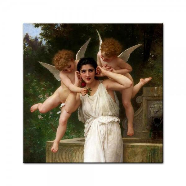 Leinwandbild - William-Adolphe Bouguereau - Jugend