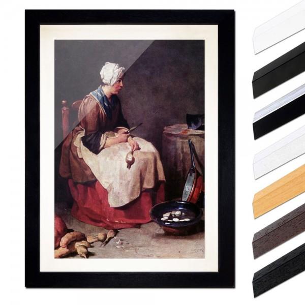 Jean Siméon Chardin - Die Rübenputzerin