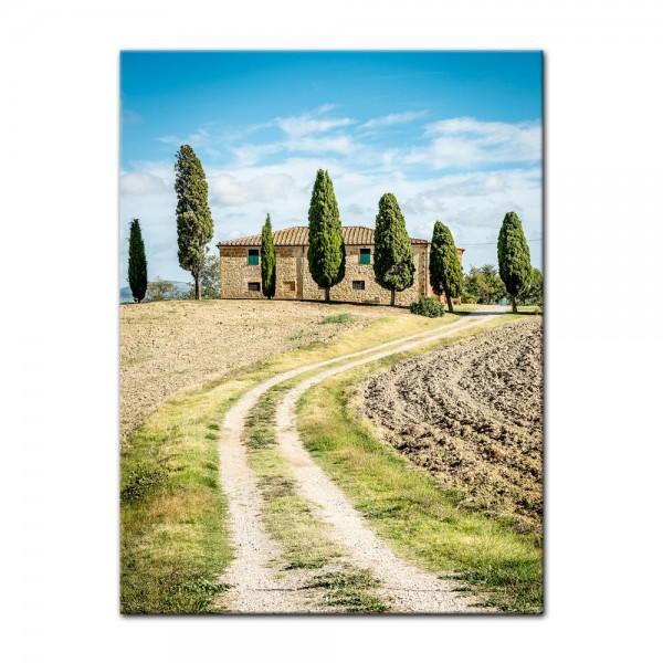 Leinwandbild - Toskana - Italien