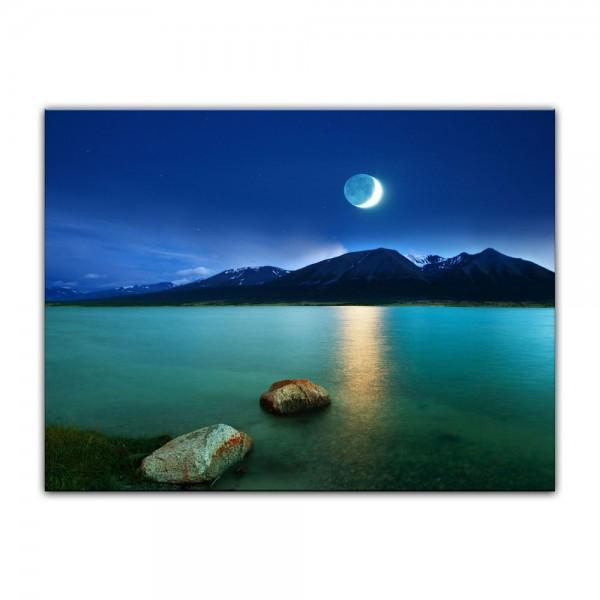 Leinwandbild - Mondlicht