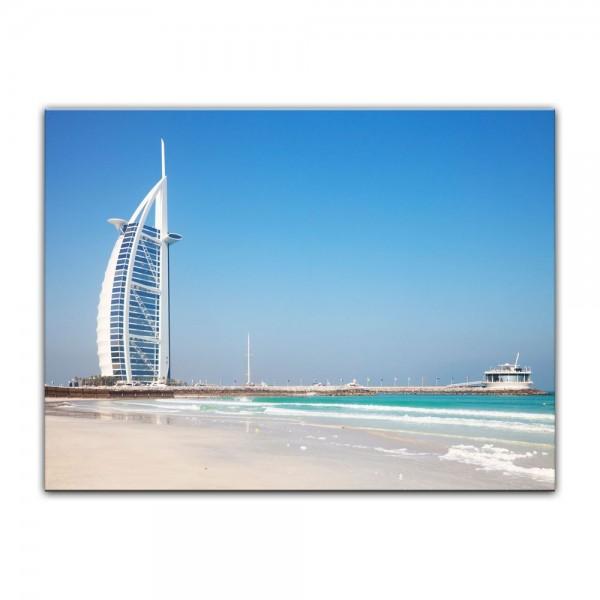 Leinwandbild - Burj al Arab Hotel in Dubai II