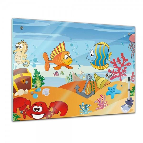 Memoboard - Kinder - Unterwasser Tiere VII