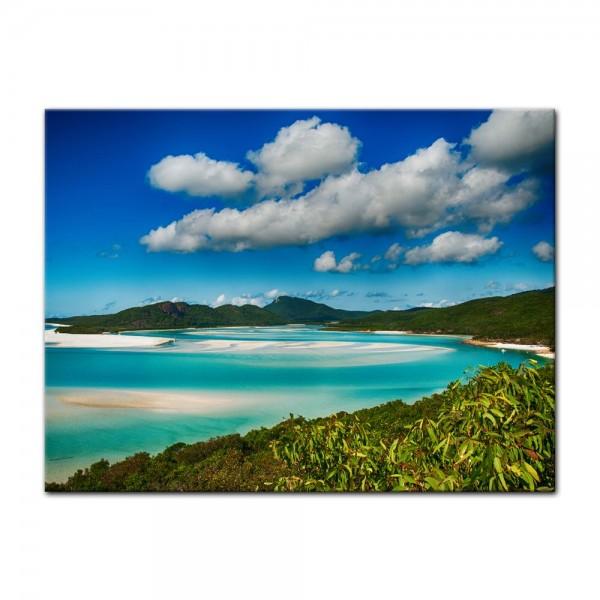 Leinwandbild - Strandlagune Nationalpark Queensland, Australien
