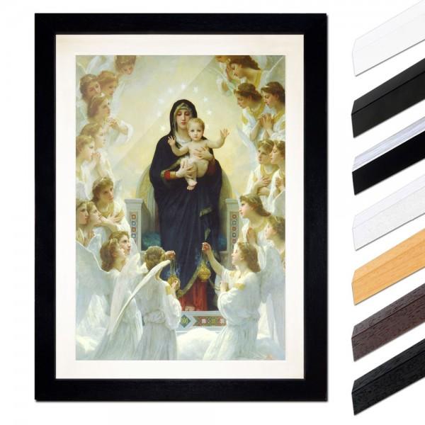 William-Adolphe Bouguereau - Die Jungfrau mit Engel