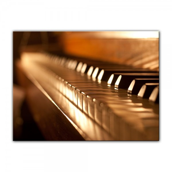 Leinwandbild - Klavier