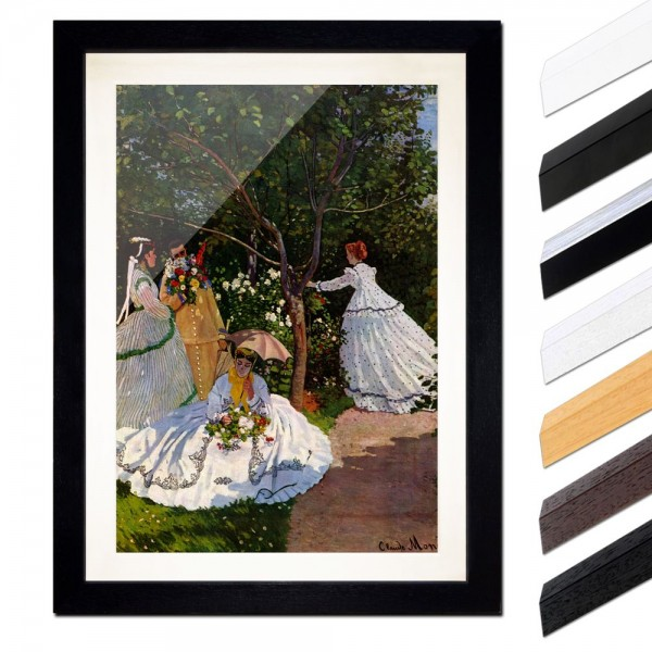 Claude Monet - Frauen im Garten