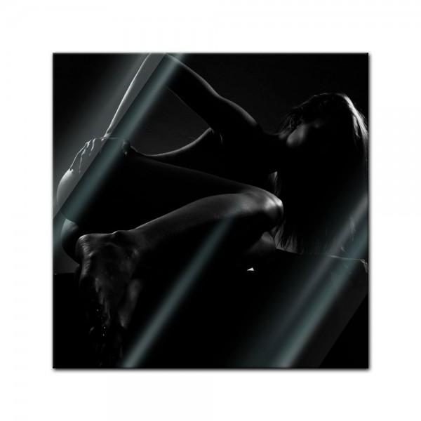 Glasbild - Frau Erotik
