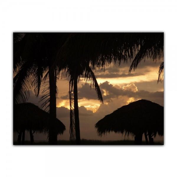 Leinwandbild - Sonnenuntergang II