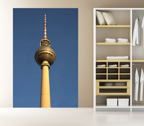 Fototapete - Fernsehturm