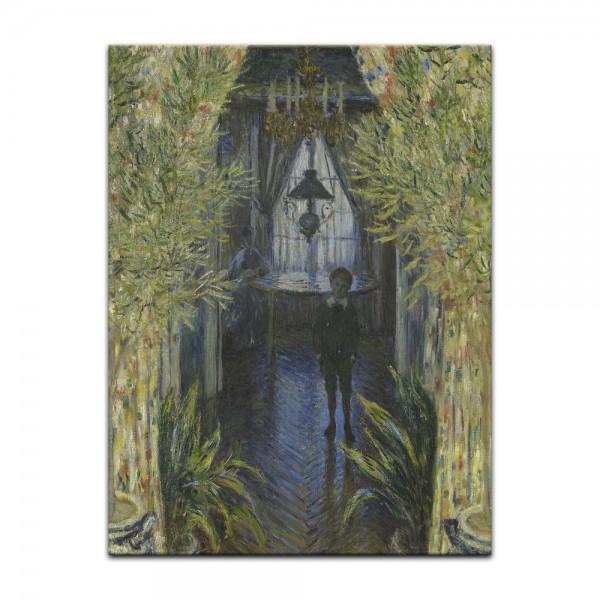 Leinwandbild - Claude Monet - Eine Ecke der Wohnung