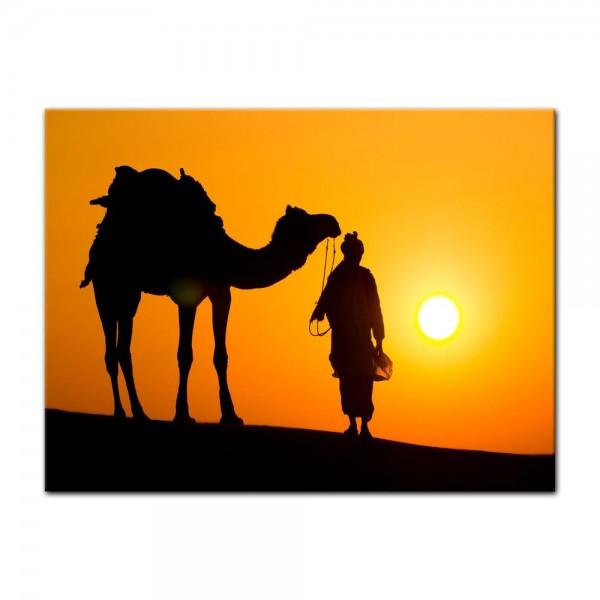 Leinwandbild - Thar Wüste - Indien