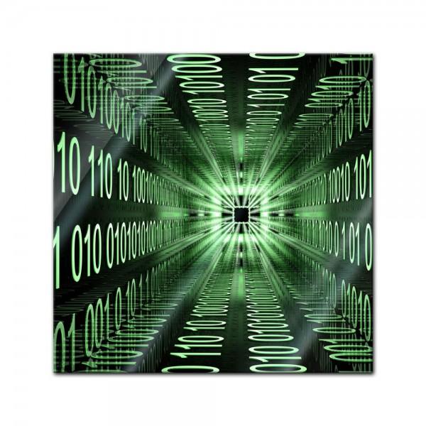Glasbild - Abstrakte Kunst XXII