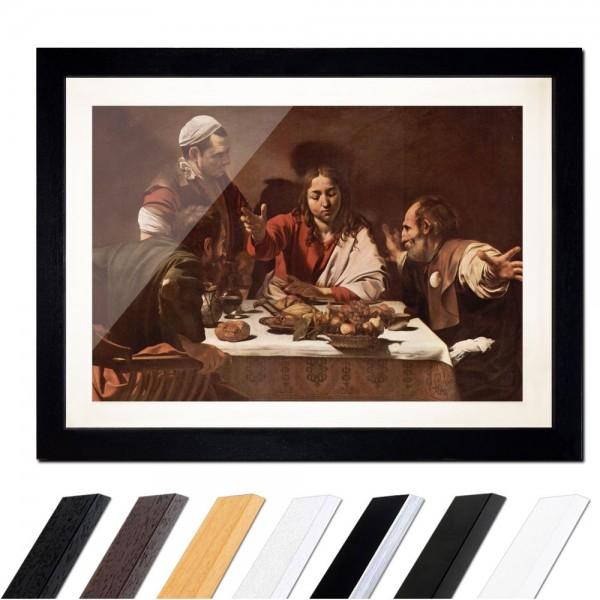 Caravaggio - Das Abendmahl in Emmaus