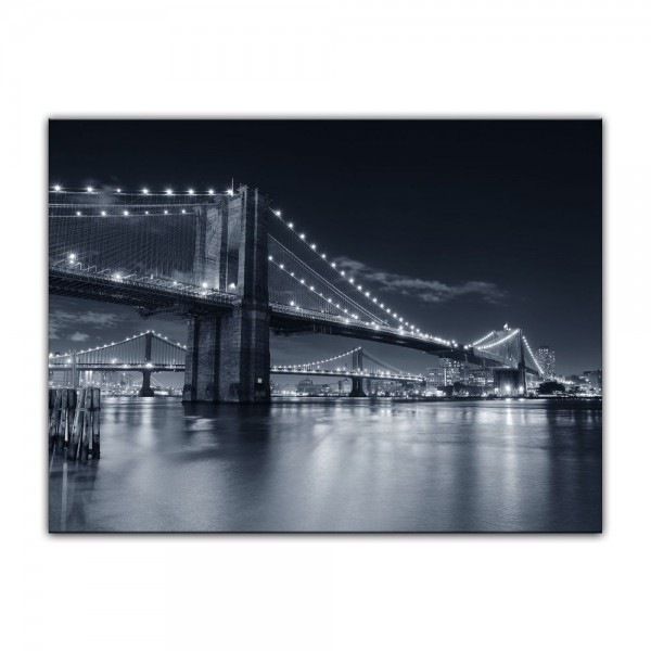 Leinwandbild - New York Bridge III