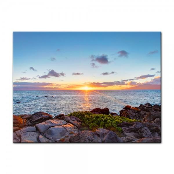 Leinwandbild - Küstenlinie Maui - Hawaii - USA