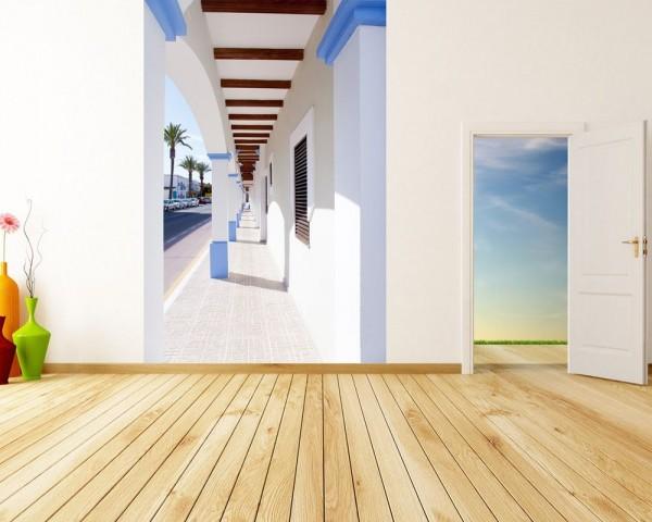 Fototapete Formentera island La Savina - Spanien