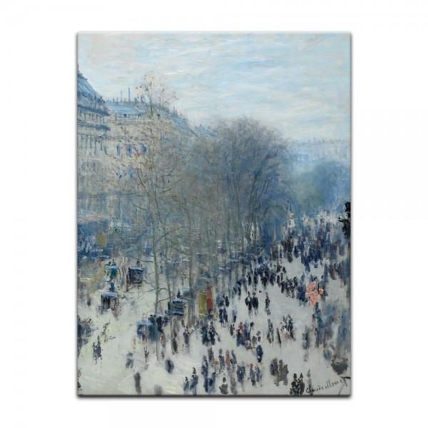 Leinwandbild - Claude Monet - Boulevard des Capucines
