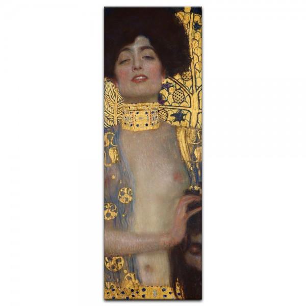 Leinwandbild - Gustav Klimt - Judith I (und der Kopf des Holofernes)