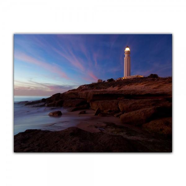 Leinwandbild - Leuchtturm von Trafalgar, Cadiz