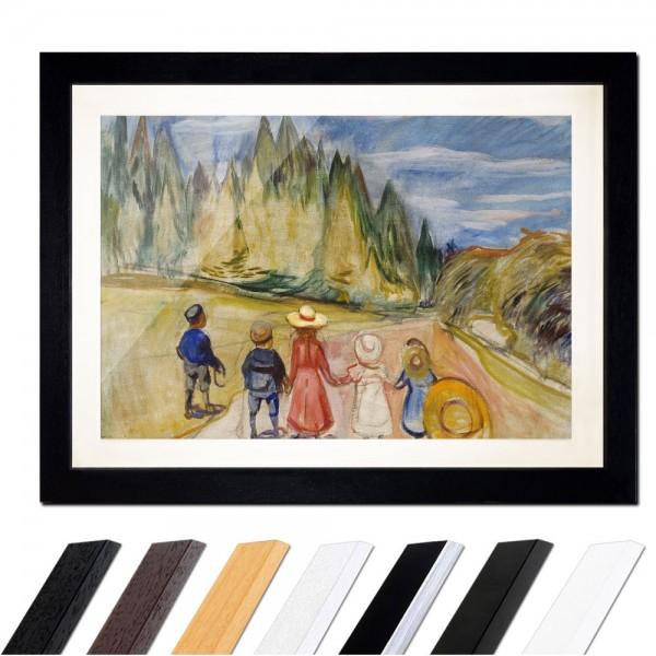 Edvard Munch - The Fairytale Forest - Der Märchenwald