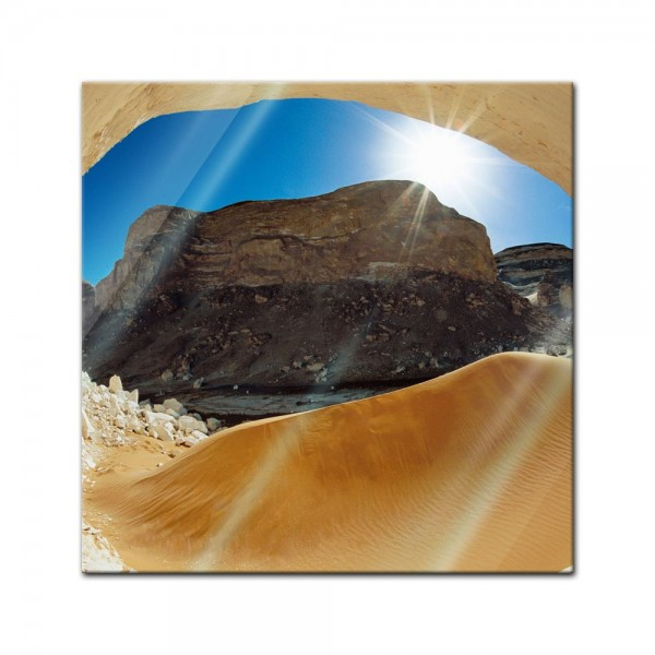 Glasbild - Landforms