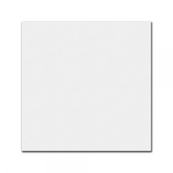 bemalbare Leinwand in weiß - Quadrat
