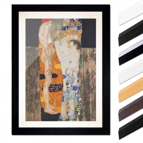 Gustav Klimt - Die drei Lebensalter der Frau