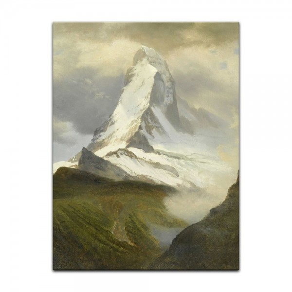Leinwandbild - Albert Bierstadt - Matterhorn