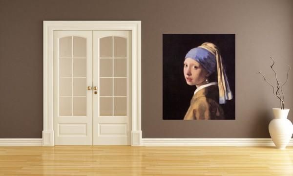 Fototapete Jan Vermeer - Alte Meister - Das Mädchen mit dem Perlenohrgehänge