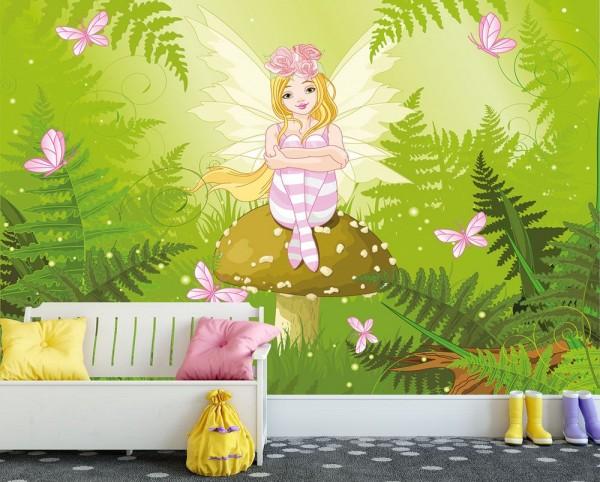 selbstklebende Fototapete - Kinderbild - Fee