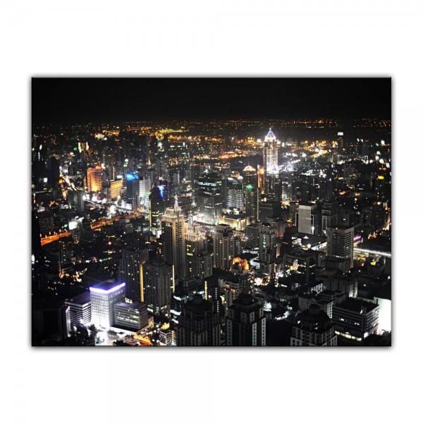 Leinwandbild - Bangkok at Night