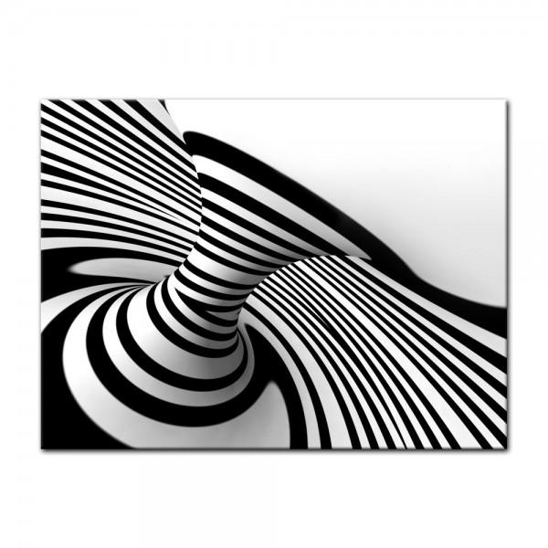 Leinwandbild - Spirale im Hintergrund
